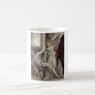 Henry Füssli - Kriemhild, Gunther @ Prison 1807 Classic White Coffee Mug