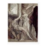 Henry Füssli - Kriemhild, Gunther @ Prison 1807 Postcards
