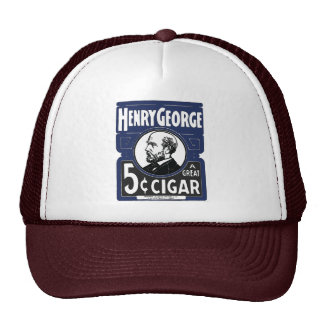Henry George A Great 5 Cent Cigar Hat