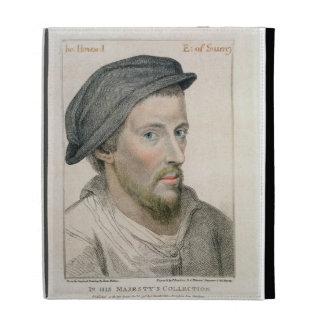 Henry Howard, conde de Surrey (c.1517-47) grabado