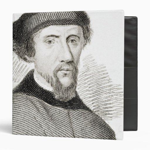 """Henry Howard, conde de Surrey Carpeta 1 1/2"""""""