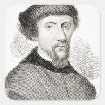 Henry Howard, conde de Surrey Pegatina Cuadrada