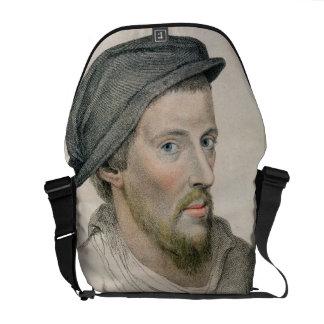 Henry Howard, Earl of Surrey (c.1517-47) engraved Courier Bag