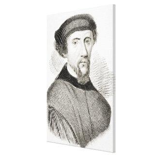 Henry Howard, Earl of Surrey Canvas Print