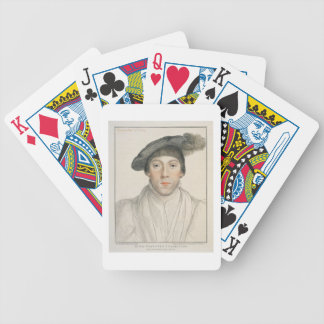 Henry Howard, Earl of Surrey, engraved by Francesc Bicycle Playing Cards