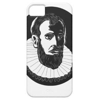 Henry Hudson Explorer Woodcut iPhone SE/5/5s Case