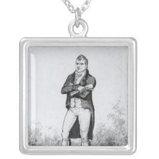 Henry Hunt Esquire  1816 Silver Plated Necklace
