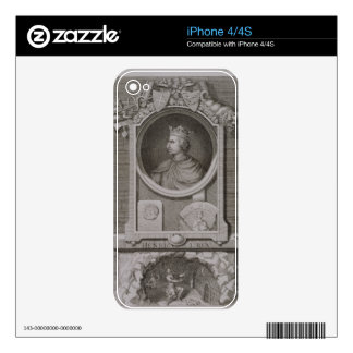Henry I (1068-1135) King of England from 1100, eng Decal For The iPhone 4S