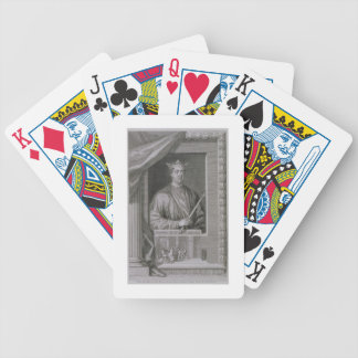 Henry II (1133-89) King of England from 1154, from Bicycle Playing Cards