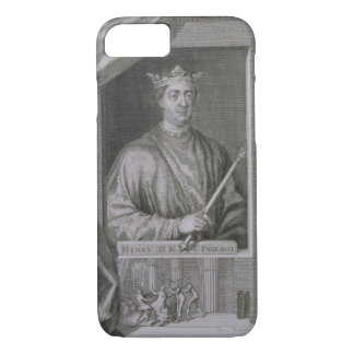 Henry II (1133-89) King of England from 1154, from iPhone 7 Case