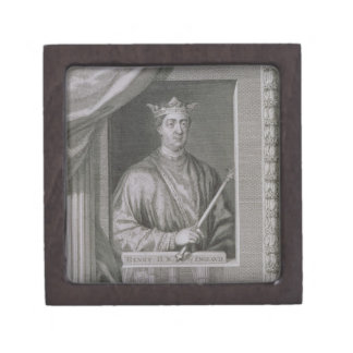 Henry II (1133-89) King of England from 1154, from Jewelry Box