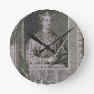 Henry II (1133-89) King of England from 1154, from Round Clock