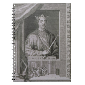 Henry II (1133-89) King of England from 1154, from Spiral Notebook