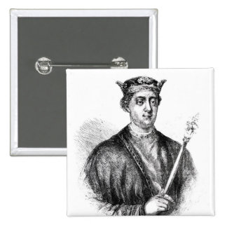 Henry II Pinback Button
