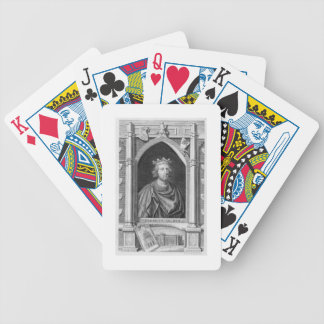 Henry III (1207-72) King of England from 1216, eng Bicycle Playing Cards