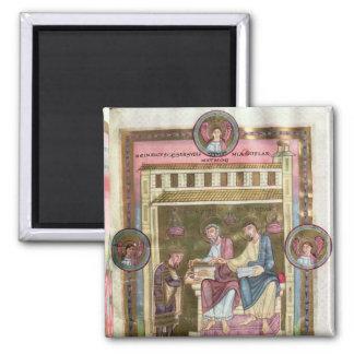 Henry III con los apóstoles Simon y Jude Imán Para Frigorifico