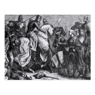 Henry III en la batalla de Lewes, el 14 de mayo de Postal