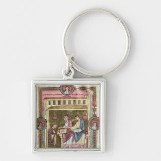 Henry III  with the Apostles Simon and Jude Keychain