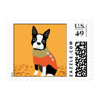 Henry in a Sweater Postage Stamp