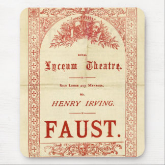 Henry Irving's Faust Mouse Pad