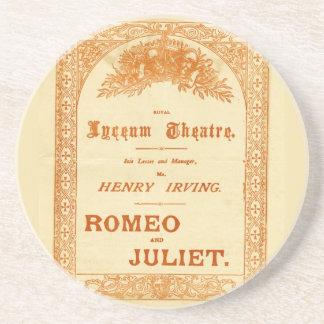 Henry Irving's Romeo & Juliet Drink Coaster