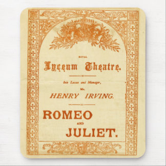 Henry Irving's Romeo & Juliet Mouse Pad