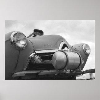 Henry J Gasser - fricción del vintage Póster