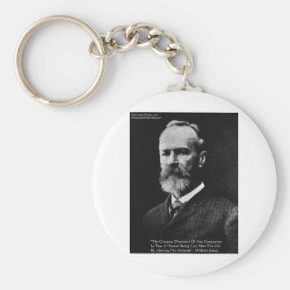 Henry James Attitude Wisdom Quote Gifts & Cards Key Chain