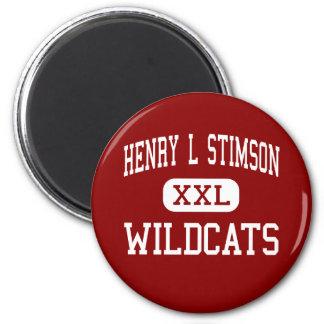 Henry L Stimson - Wildcats - Huntington Station Magnet