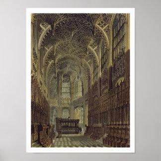 Henry la séptima capilla, platea 8 de 'Westminste Póster