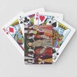 Henry las octavas y sus seis esposas barajas de cartas