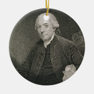 Henry Laurens, engraved by Thomas B. Welch (1814-7 Ceramic Ornament