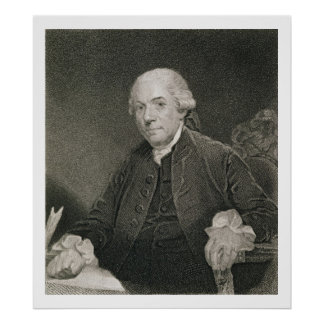 Henry Laurens, engraved by Thomas B. Welch (1814-7 Poster