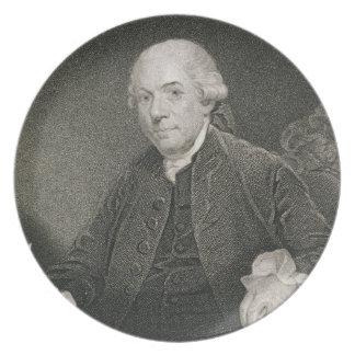 Henry Laurens, grabado por Thomas B. Welch (1814-7 Plato De Comida