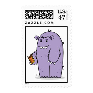 Henry Loves Chocolate - Postage Stamp
