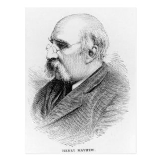 Henry Mayhew Postcard