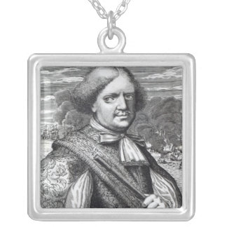 Henry Morgan, 1678 Silver Plated Necklace