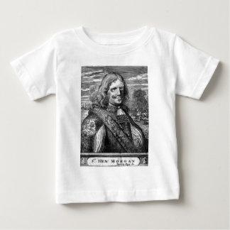 Henry Morgan Pirate Portrait Baby T-Shirt