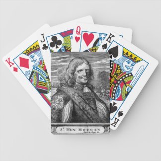 Henry Morgan Pirate Portrait Bicycle Playing Cards