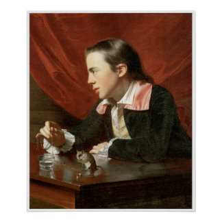 Henry Pelham (Boy with a Squirrel), 1765 Posters