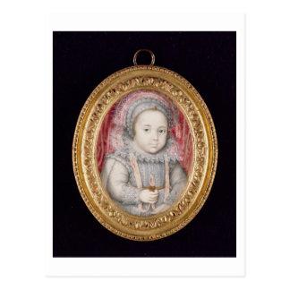 Henry, Prince of Wales (miniature portrait) Postcard