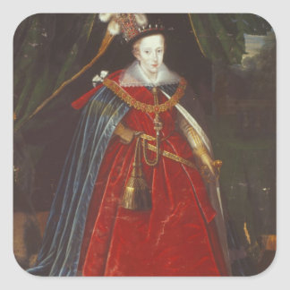 Henry, Príncipe de Gales, c.1603 Pegatina Cuadrada