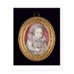 Henry, Príncipe de Gales (retrato miniatura) Tarjeta Postal