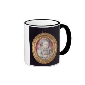 Henry, Príncipe de Gales (retrato miniatura) Taza De Dos Colores