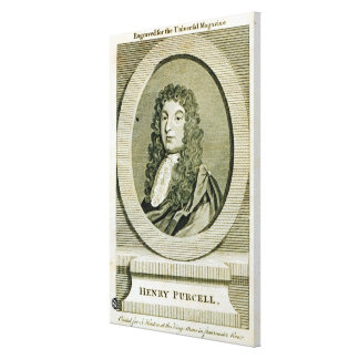 Henry Purcell Stretched Canvas Print