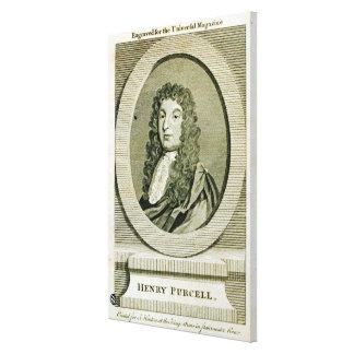 Henry Purcell Lona Envuelta Para Galerias