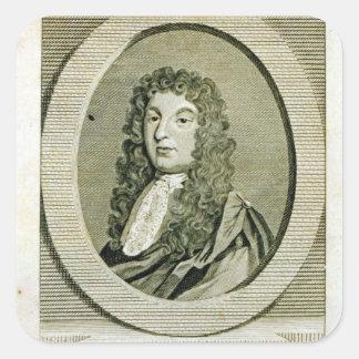 Henry Purcell Pegatina Cuadradas