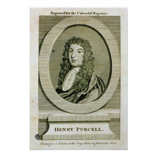 Henry Purcell , Poster