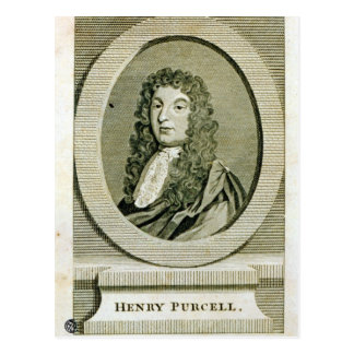 Henry Purcell Postales