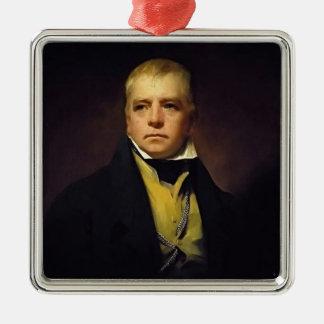 Henry Raeburn- Portrait of Sir Walter Scott Christmas Ornament